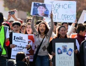 Youth march for justice photo by Bill Hackwell