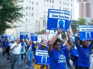 Troy Davis march