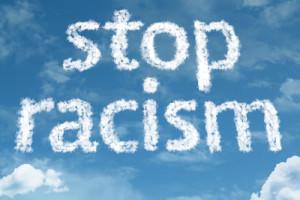 STop Racism- sky writing