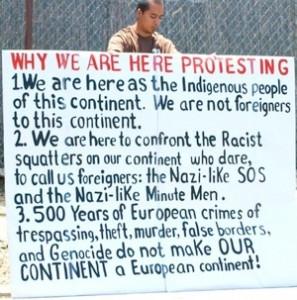 La Raza Protester 3