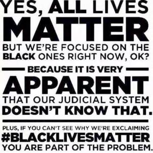 All Lives Matter?