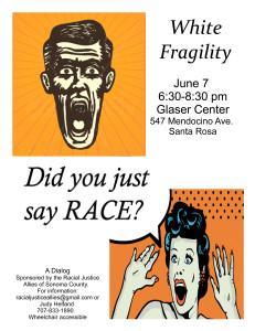 White Fragility Poster